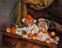 """Paul Cézanne (1839-1906), """"Fruit Bowl, Pitcher and Fruit"""""""
