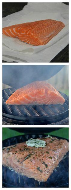 Salmon on the Big Green Egg   Necessary Indulgences