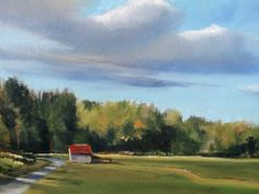 """""""Nearly Fall"""" Oil on Panel  Painted in Germanton, NC   SOLD"""
