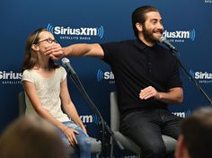 Jake Gyllenhaal And His On-Screen Daughter Are Too Cute For Words
