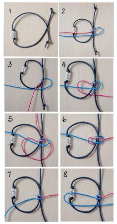 Square or Cobra Macrame Sliding Knot Tutorial