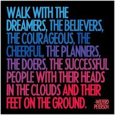 Walk to your success.