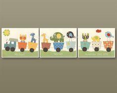 Nursery Decor Boy Nursery Wall ArtWall Art Baby by DesignByMaya, $53.00