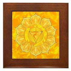 Solar Plexus Chakra Framed Print