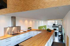"Kitchen of ""Bamboo House"" in  Rotselaar, Belgium"