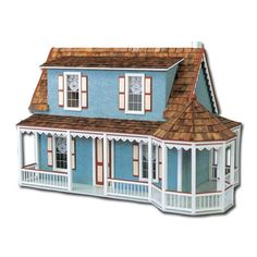 Mountain View Cottage Dollhouse by Real Good Toys
