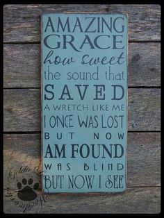 primitive signs sayings | Signs, Sayings, and Such / Amazing Grace Primitive Wood Wall Sign Dog ...