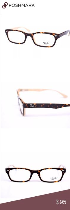 Ray Ban Tortoise Eyeglasses Ray Ban Tortoise Eyeglasses New without tags.  Includes a RayBan case only!!!  50-19-135 Ray-Ban Accessories Glasses