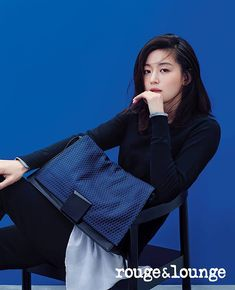 Marie Claire Korea Feat. Jeon Ji Hyun's Rouge & Lounge Ad Campaign | Couch Kimchi