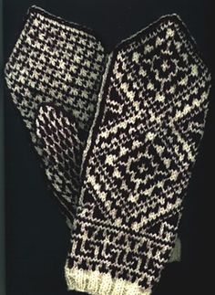 Ravelry: Norwegian Mittens pattern by Beth Brown-Reinsel