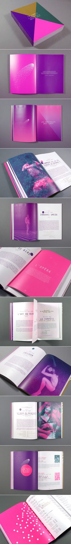 La comète - wonderful use of bright colours in a professional way
