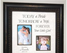 Wedding Gift for Parents of the Bride, Father of the Bride Wedding Gift for Dad from Daughter Thank You Gift For Parents, Wedding Thank You Gifts, Wedding Gifts For Parents, Mother Of The Groom Gifts, Bride And Groom Gifts, Gifts For Wedding Party, Father Of The Bride, Gifts For Dad, Disney Memes