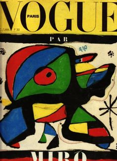 Vogue Cover...Joan Miro