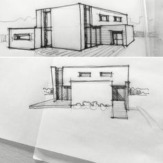 Sketch House Architecture www.rabarylelay.agency