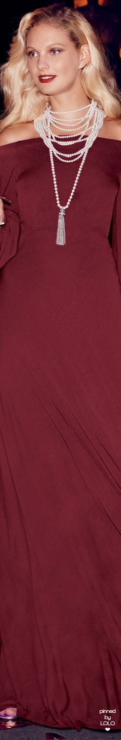 Jill Jill Stuart Off-the-Shoulder Blouson-Sleeve A-line Evening Gown Shades Of Burgundy, White Burgundy, Cyber Monday, Neiman Marcus, Evening Gowns, Off The Shoulder, Glamour, Marsala, My Style
