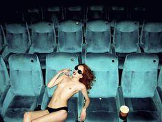 LEX IN THE CINEMA. BERLIN  Photo: Kate Bellm