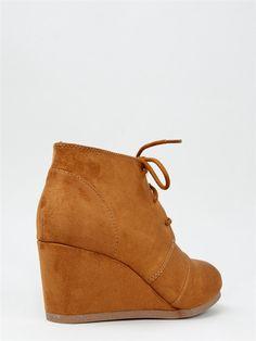 City Classified REX Lace Up Wedge Bootie | Shop Shoes