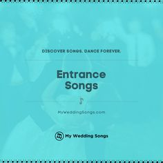 What is your favorite song for entering the reception venue as the new married couple? ⠀ . You can read our list of the top entrance songs on our website. .  #weddingsongs #weddingreception