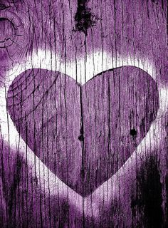 ❀❥Purple❥❀ Heart of Wood ❀ Purple & White Color Therapy - Mood Board. Purple Love, Purple Lilac, All Things Purple, Shades Of Purple, Purple Hearts, Purple Stuff, Pink, Mauve, Color Lavanda
