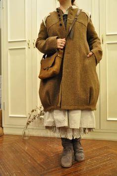 I love the coat silhouette for a child: Suzuki Takayuki