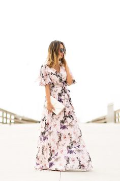 With Spring and wedding season almost here, I'm starting to look for pretty dresses for various occasions. I'm a big fan of maxi dresses and this pleated pink floral maxi dress has all …