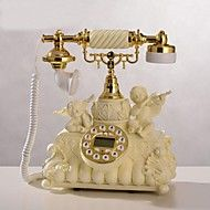 HOSHINE® Novelty European Style Cupid Angel Polyresin Home Telephone With ID Display