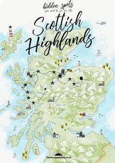 Your Perfect Itinerary To See The Hidden Spots In The Scottish Highlands (Hand Luggage Only) Scotland Road Trip, Scotland Travel, Ireland Travel, Visiting Scotland, Scotland Hiking, Scotland Vacation, Galway Ireland, Cork Ireland, Ireland Vacation