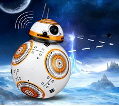 Star Wars Ball BB-8 Droid 2.4G RC Robot Intelligent Ball Toys Gift