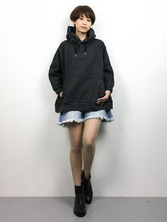 ZOZOTOWN|yukiさんのパーカー「カンガルー ポケット フーディー(Traditional Weatherwear|トラディショナルウェザーウェア)」を使ったコーディネート