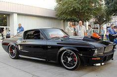 Custom 67 Mustang Obsidian