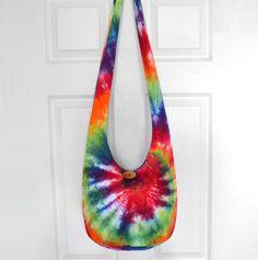 Cross Body Bag Hobo Bag Hippie Purse Sling Bag Boho by 2LeftHandz