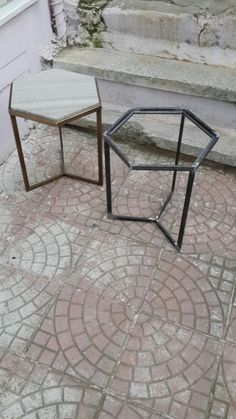 New Welding art will be done soon! Welded Furniture, Iron Furniture, Steel Furniture, Home Decor Furniture, Industrial Furniture, Furniture Design, Mesa Metal, Wood And Metal, Metal Picnic Tables