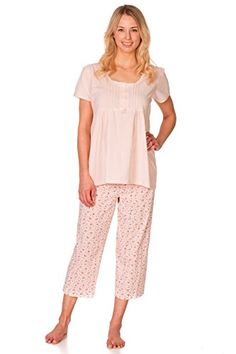Women's Patricia Pink Top Floral Print Capri 2 Piece Pajama Set with Lace Detail Small Patricia http://www.amazon.com/dp/B00TUCBWCO/ref=cm_sw_r_pi_dp_wO4Wvb0RFTMDP