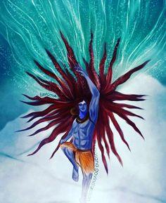 Har Har Mahadev Shiva Tandav, Shiva Art, Krishna Art, Angry Lord Shiva, Lord Shiva Hd Images, Om Namah Shivay, Shiva Tattoo, Jai Hanuman, Lord Shiva Painting