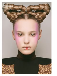 issue: Beauty Queens by Carine Roitfeld Carine Roitfeld Harper's Bazaar May issue beauty shoot Editorial Hair, Beauty Editorial, Beauty Shoot, Hair Beauty, Futuristic Hair, Retro Futuristic, Beauty Fotos, Braided Hairstyles, Cool Hairstyles