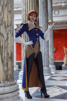 Ryoko-demon's cosplay of Amelia from Treasure Planet