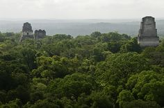 Tikal (Guatemala) - Look familiar?  Tikal was used as the location of the rebel base in Star Wars.  However, it's pretty impressive in its own right.  I lived in Guatemala for a few years as a child, but didn't have a chance to go.  I'd like to rectify that some day.