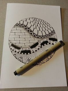 Kai-Zen Doodles: Zentangle: Stacked and Tangled & Zentangle: Journaled and Tangled