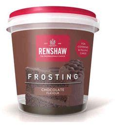 Renshaw pehmeä kuorrute, suklaa - 5,1e