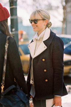 Vanessa Jackman: Fashion News Editor Flare magazine Mosha Lundstrom Halbert, after Karen Walker, NYC, February 2013