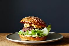 Recipes to Devour this Tailgate Season | Bacon-Stuffed Burgers with Pimento Cheese and Avocado