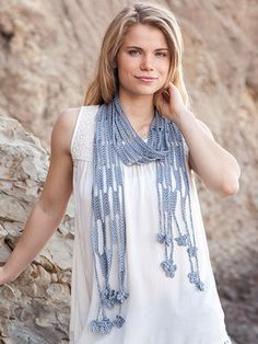 Fast to crochet patterns Easy Crochet Gifts to Make in 2 Hours or Less Cotton Scarves | ☂ᙓᖇᗴᔕᗩ ᖇᙓᔕ☂ᙓᘐᘎᓮ http://www.pinterest.com/teretegui