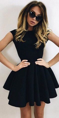 There is just so much to be said about a woman who has the confidence to own a room in an elegant black dress with black heels. As a man, you know you need to convince her you are worth a second date.