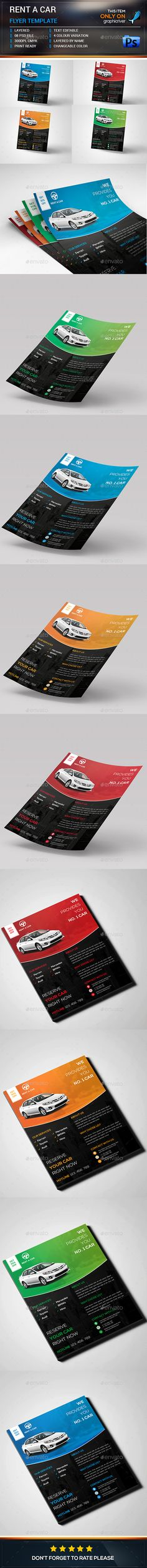 Car Sale Flyer Flyer template, Billboard design and Font logo - car flyer template