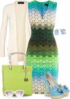 """""""A Touch Of Lime"""" by yasminasdream ❤ liked on Polyvore"""