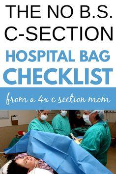 Hospital Bag C Section, Birth Hospital Bag, Hospital Bag List, Delivery Hospital Bag, Hospital Checklist, Packing Hospital Bag, Pregnancy Hospital Bag, Hospital Bag For Mom To Be, Csection Hospital Bag