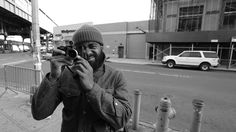 Here's a short, inspiring video profile of Brooklyn-based street photographer Andre D. Wagner. We're offered a glimpse into Wagner's mind as he talks about