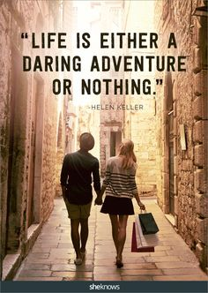 Adventure or nothing. So, what will it be? #quotes #travel