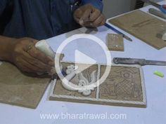 Mural Art Video Tutorials - by Muralguru Bharat Rawal Clay Wall Art, Clay Art, Clay Crafts, Diy And Crafts, Dollhouse Miniature Tutorials, Plaster Art, Polymer Clay Dolls, Clay Flowers, Pen Art