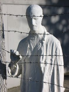 George Segal, The Holocaust, 1984......haunting/but history need not be forgotten
